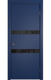 Дверь ВФД Ньюта 59ДО09 Синяя