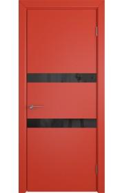 Дверь ВФД Ньюта 59ДО07 Красная