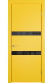 Дверь ВФД Ньюта 59ДО08 Желтая