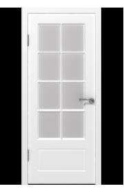 Дверь ВФД Гланта 87ДО0 Белая эмаль