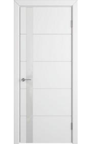 Дверь ВФД Тривиа 50ДО0 Белая эмаль