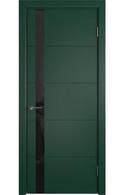 Дверь ВФД Тривиа 50ДО010 Эмаль Зеленая