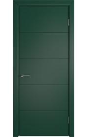 Дверь ВФД Тривиа 50ДГ010 Эмаль Зеленая