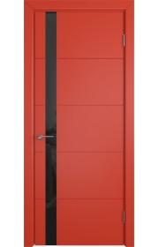 Дверь ВФД Тривиа 50ДО07 Эмаль Красная