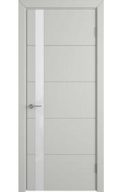 Дверь ВФД Тривиа 50ДО02 Эмаль Светло-серая