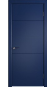 Дверь ВФД Тривиа 50ДГ09 Эмаль Синяя