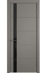 Дверь ВФД Тривиа 50ДО03 Эмаль темно-серая