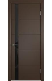 Дверь ВФД Тривиа 50ДО05 Эмаль Шоколад