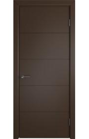 Дверь ВФД Тривиа 50ДГ05 Эмаль Шоколад