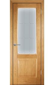 Дверь Покрова Прованс 12 Светлый орех ДО
