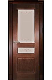 Межкомнатная дверь Оливия Темный орех ДО