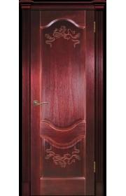Дверь Покрова Прованс 2 сапель (красное дерево) ДГ