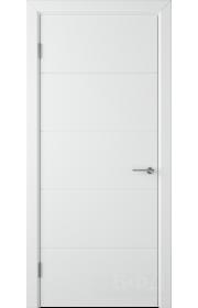 Дверь ВФД Тривиа 50ДГ0 Белая эмаль