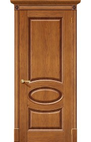Двери Халес Валенсия Медовый дуб Глухие