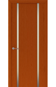 Двери Океан Шторм 2 Красное дерево Стекло белое
