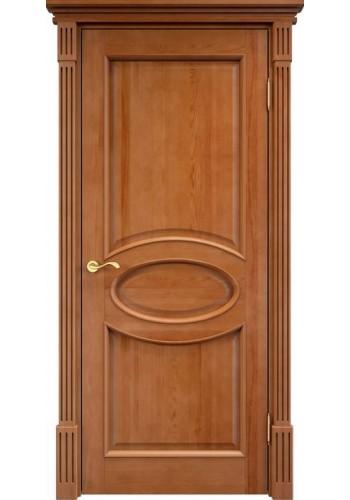 Дверь межкомнатная ПМЦ 26 ДГФ темный лак ДГ