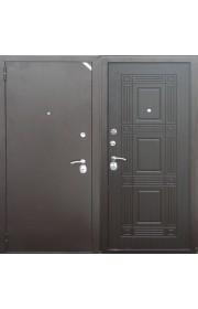 Дверь Zetta Комфорт 2 Б1 Медь - Венге