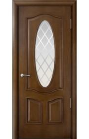 Двери Мильяна Барселона Дуб натуральный Стекло Готика