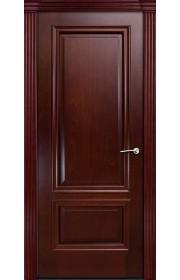 Двери Мильяна Бристоль Премиум Красное дерево Без стекла