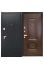 Дверь Интекрон Вавилон Черная шагрень - Венге