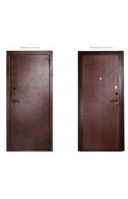 Дверь Дива МД-01 Медь - Итальянский орех