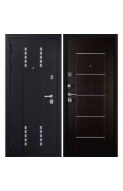 Дверь Дива МД-22 Черный шелк - Венге
