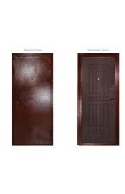 Дверь Дива МД-04 Медь - Венге