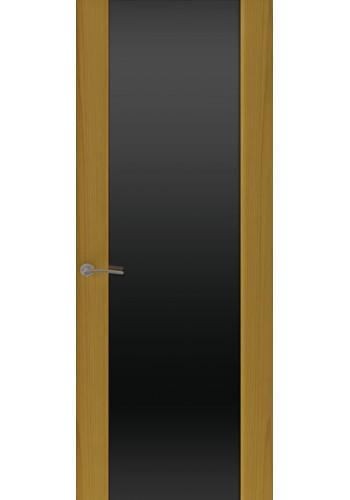 Двери Океан Шторм 3 Ясень шервуд Стекло черное