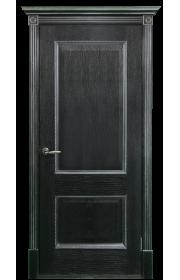 Двери Белоруссии Гранд Черная патина серебро ДГ