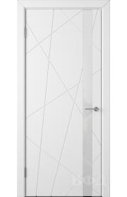 Дверь ВФД Флитта 26ДО0 Белая эмаль