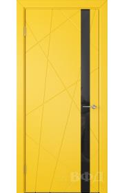 Дверь ВФД Флитта 26ДО08 Желтая