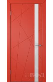 Дверь ВФД Флитта 26ДО07 Красная