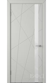 Дверь ВФД Флитта 26ДО02 Светло-серая