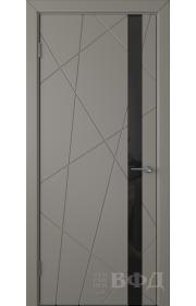 Дверь ВФД Флитта 26ДО03 Темно-серая