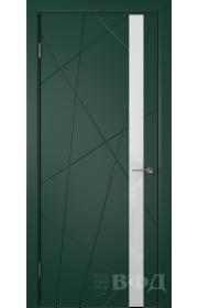 Дверь ВФД Флитта 26ДО010 Зеленая
