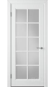 Дверь ВФД Гланта 57ДО0 Белая эмаль