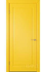 Дверь ВФД Гланта 57ДГ08 Эмаль желтая