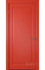 Дверь ВФД Гланта 57ДГ07 Эмаль красная