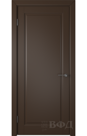 Дверь ВФД Гланта 57ДГ05 Эмаль шоколад