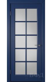 Дверь ВФД Гланта 57ДО09 Эмаль синяя