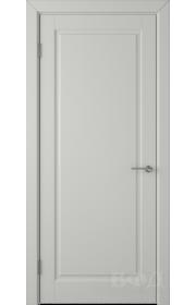 Дверь ВФД Гланта 57ДГ02 Эмаль светло-серая