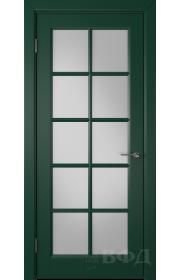 Дверь ВФД Гланта 57ДО010 Эмаль зеленая