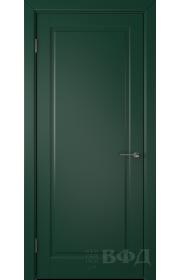 Дверь ВФД Гланта 57ДГ10 Эмаль зеленая