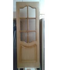 Фото установленной Дверь ВФД Гланта 57ДГ0 Белая эмаль