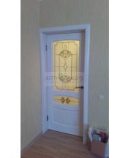 Фото установленной Дверь Арт Деко Вэла 2 венге ДО