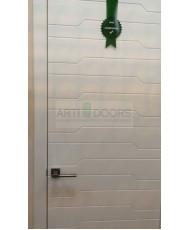 Фото установленной Арка Универсал венге (толщина стены до 20см)