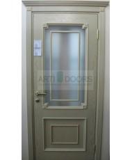 Фото установленной Двери Белоруссии Адант Дуб натуральный ДГ