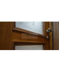 Фото установленной Двери Белоруссии Катания Венге ДО