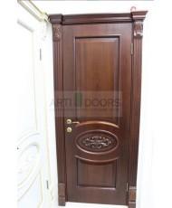 Фото установленной Дверь Дворецкий Триумф Эмаль белая ДО