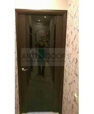Фото установленной Дверь Лига Комета Ясень альба ДО